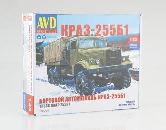 Сборная модель КРАЗ-255Б1 бортовой