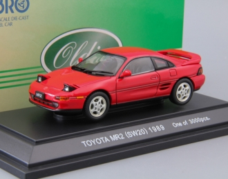 TOYOTA MR-2 SW20 (1989), red