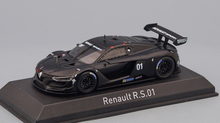RENAULT R.S.01 Test Car (2014), black