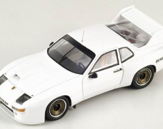 PORSCHE 924 Carrera GTR Test Paul Ricard (1980), white