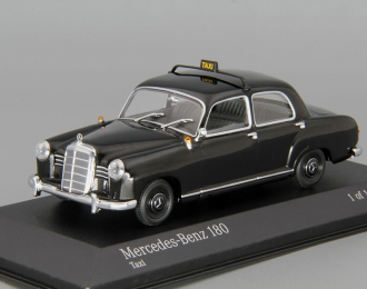 MERCEDES-BENZ 180 Taxi, black