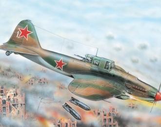 Сборная модель Штурмовик Ильюшин  Ил-2 М3