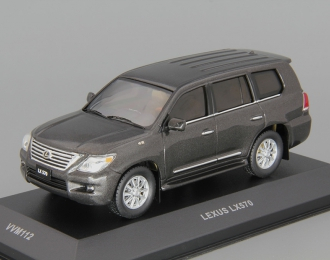 LEXUS LX570 (2010), black metallic