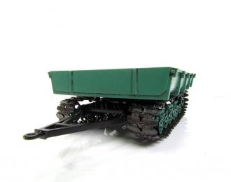 МТП-24Б прицеп гусеничный, зеленый
