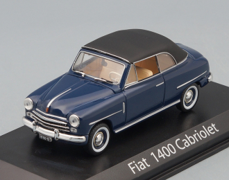FIAT 1400 Cabriolet 1950, Dark Blue