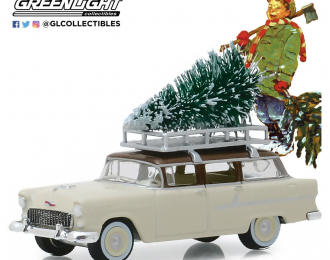 CHEVROLET Two-Ten Townsman with Christmas c елкой 1955