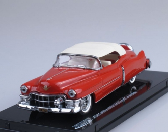 CADILLAC Closed Convertible (1953), red