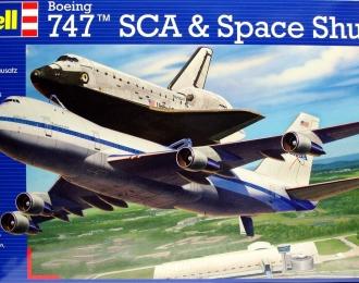 Сборная модель Самолёт Boeing 747 SCA и космический челнок
