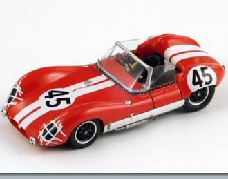 LOLA MK1 №45 Le Mans (C.Voegele - P.Ashdown) 1960, red