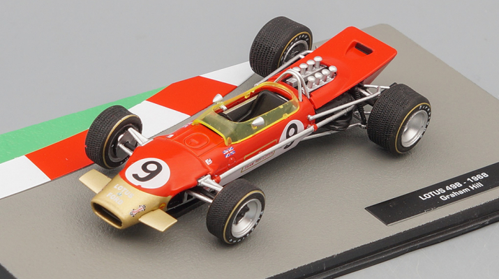 LOTUS 49B  Грэма Хилла (1968), Formula 1 Auto Collection 27
