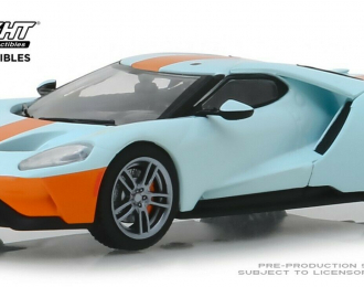 "FORD GT Heritage Edition 2019 ""Gulf"" Oil Color"