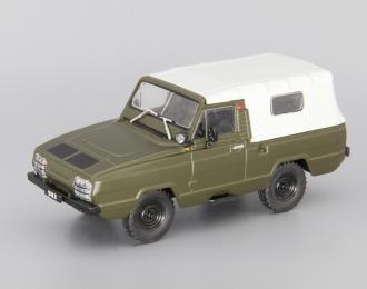УАЗ 3907 Ягуар, Автолегенды СССР 144, хаки