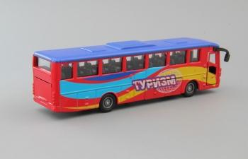 Автобус рейсовый Туризм, красный