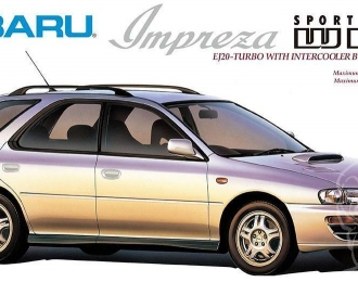 Сборная модель SUBARU Impreza SPORTS WAGON WRX