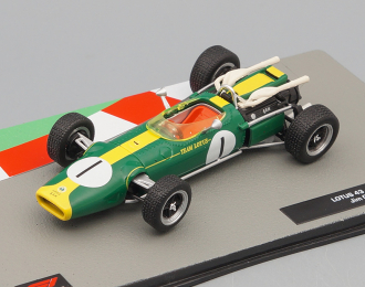 LOTUS 43 Джима Кларка (1966), Formula 1 Auto Collection 24
