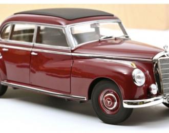 """MERCEDES-BENZ 300 (W186) """"Adenauer"""" 1955 Dark Red"""