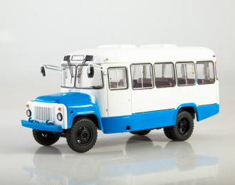 Курганский автобус 3270, белый / голубой