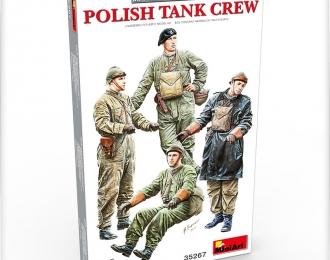 Сборная модель Польский танковый экипаж