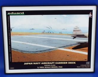 """Сборная модель Основание для диорамы """"Палуба японского авианосца"""""""