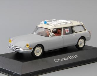 "CITROEN ID 19 ""Ambulance"" (1965), white / silver"
