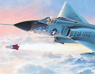 Сборная модель Американский истребитель-перехватчик Convair F-106A Delta Dart