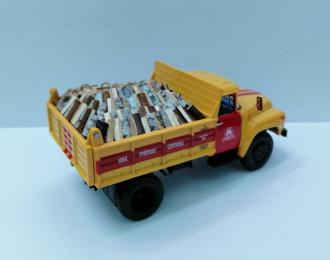 Груз в кузов Дрова колотые для ZIL-ММЗ-4502