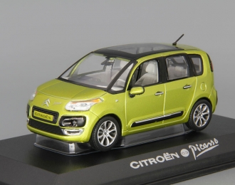 CITROEN C3 Picasso (2009), lime green