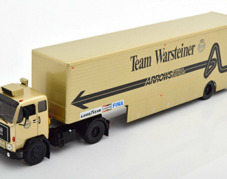 "VOLVO F89 Race Transporter с полуприцепом ""Warsteiner Arrows Team F1"" (1981)"