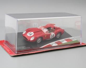 FERRARI 250 Testarossa 24h Le Mans Drivers: O.Gendebien / P.Hill #14 (1958), red