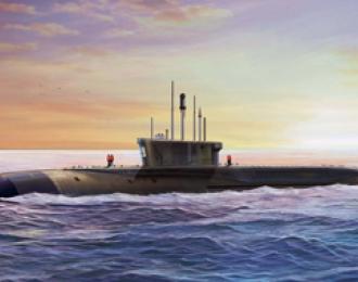Сборная модель Russian Project 955 'Borei', 'Yuri Dolgoruky' SSBN