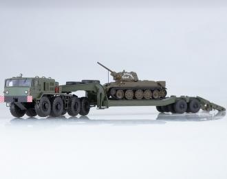 Набор МАЗ-537 с п/п ЧМЗАП-5247 + танк Т-34-76