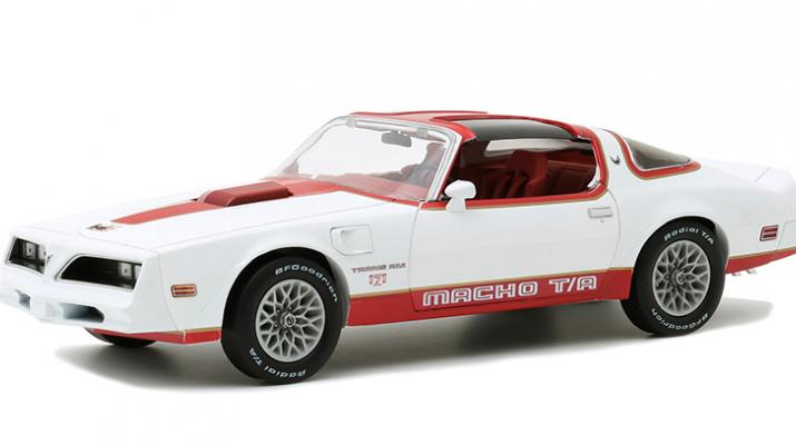 "PONTIAC Firebird ""Macho Trans Am"" #171 of 204 by Mecham Design 1978 White/Red"