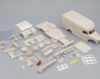 Сборная модель Хлебный фургон на базе Горький 51