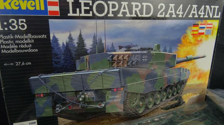 Сборная модель LEOPARD 2A4/A4NL