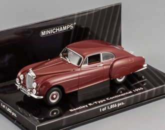 BENTLEY R-Type Continental (1955), red