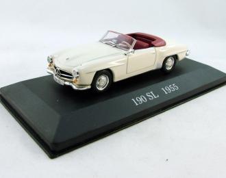 MERCEDES-BENZ 190 SL (1955), Mercedes Offizielle Modell-Sammlung 5, бежевый