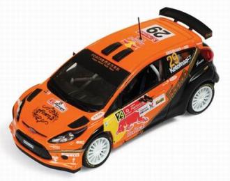 FORD Fiesta S2000 29 Winner S-WRC Vodafone Rally Portugal (J.Ketomaa - M.Stenberg) 2010, orange