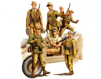 Сборная модель Немецкая пехота GERMAN AFRICA CORPS