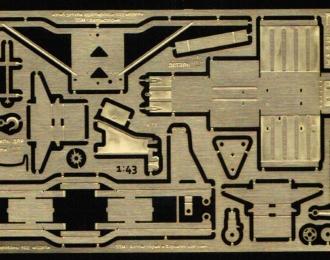 Фототравление Дополнительный набор для модели ЗИL 131 №2