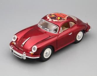 PORSCHE 356 B Coupe (1961), red