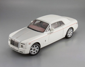 ROLLS-ROYCE Phantom Coupe, english white