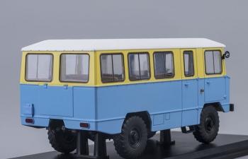 АПП 66 Армейский автобус на шасси 66, жёлто-синий