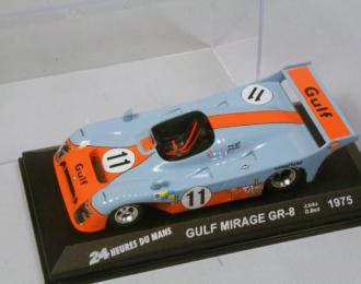 MIRAGE Gulf GR-8 #11 Le Mans (1975), orange / blue