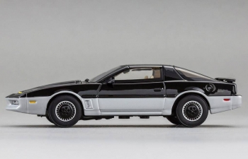 PONTIAC Trans AM Firebird Knight Rider (1982) K.A.R.R 2TONE, black