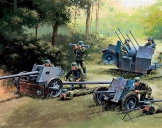 Сборная модель Немецкие орудия PAK35 - PAK40 - FLAK38