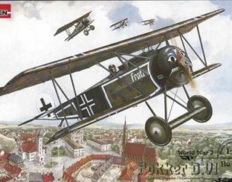Сборная модель Fokker D.VI