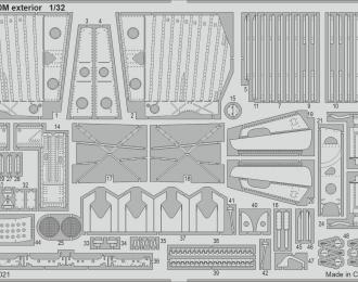 Набор фототравления для P-40M часть II