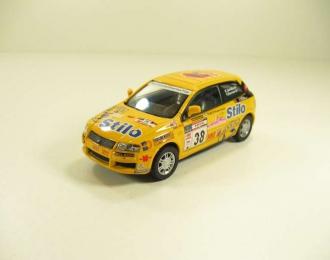 FIAT Stilo Abarth, yellow