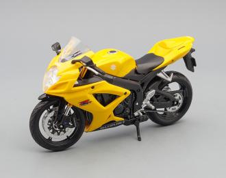 SUZUKI GSX-R600, black / yellow