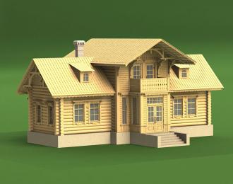 Сборная модель Дом Сельсовета